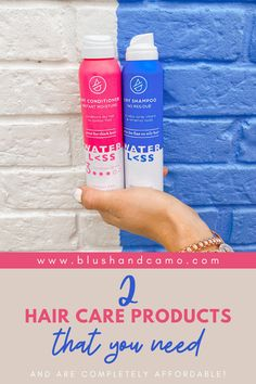 Is it time for a self-care routine makeover? Why not start with your hair care products? Great hair days are in your future with these affordable waterless products you can get at your local store! I'll even share my all time favorite hair care product with you! #alltimefavorite #selfcare #waterless #affordablehair