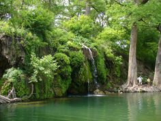 Krause Springs - Spicewood, Texas - Swimming Hole