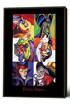 Disney villains!