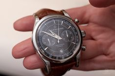 Carl F. Bucherer Manero Flyback in steel Omega Watch, Steel, Accessories, Clock, Gourmet Foods, Steel Grades