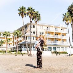 A Weekend Away At The Jamaica Bay Inn – Oh Hello Celeste // marina del rey travel with toddler hotels in los angeles must stay hotel with toddler beachfront hotel mommy and daughter at beach los angeles beach mom baby toddler vacation @celeste_wright