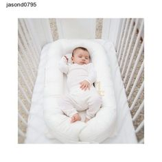 White Baby Crib Cot Bed Sleepyhead Deluxe Cover Pristine Bedtime Nap Time Sleep