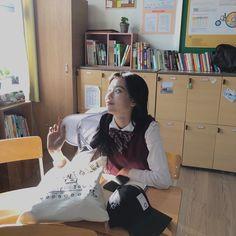 Teen Web, Web Drama, Uzzlang Girl, I Want To Cry, School Uniform, Ulzzang, Kdrama, Asian Girl, Study
