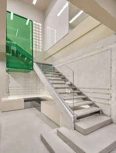 Canal St store in Shanghai is styled like the New York subway Metal Shutters, New York Theme, New Staircase, Staircases, Downtown New York, Metal Railings, Bar Interior, Interior Design, Retail Interior