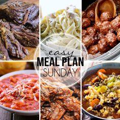Easy Meal Plan Sunday {Week 27}