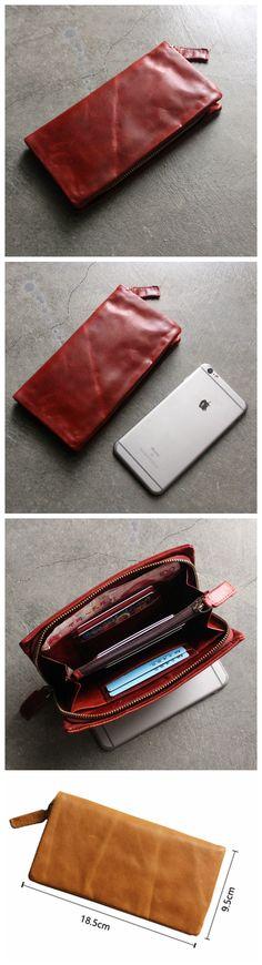 Long Leather Wallet, Women Wallet, Phone Wallet, Cards Wallet SL006