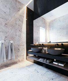Modern Interior design Inspiration - Here we showcase a collection of perfectly minimal interior design examples for you to use as inspiration Check out the previous post in the series Minimal Modern House Design, Modern Interior Design, Interior Design Inspiration, Bathroom Inspiration, Interior Architecture, Design Ideas, Interior Ideas, Luxury Interior, Daily Inspiration