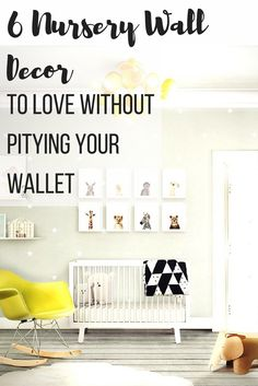6 Nursery Wall Decor to love without pitying your wallet