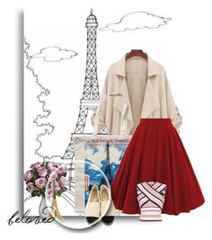 Fashionista in Paris by cocojeansblog on Polyvore featuring MSGM, Rosanna and Merci Gustave!