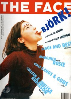 the face magazine - bjork