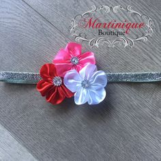 A personal favorite from my Etsy shop https://www.etsy.com/listing/572283586/valentines-day-headband-5-petal-small