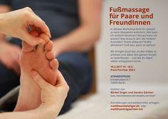 Wohlf?hlen im Wohnzimmer - ein Fu?massage-Workshop
