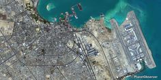 Doha, Qatar – PlanetSAT 15 satellite image (01/2014)