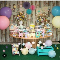 Birthday Bar, Happy Birthday, Birthday Parties, Kitten Party, Cat Party, Food Table Decorations, Childrens Party, Baby Shower Parties, Party Themes