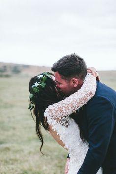 Milly & Hugo's Tassie Farm Wedding