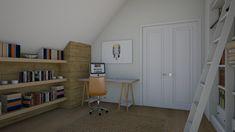 Roomstyler.com - Camera copil Corner Desk, Bookcase, Kids Room, Shelves, Furniture, Home Decor, Shelving, Homemade Home Decor, Room Kids