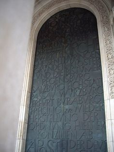 typography door, via Flickr.