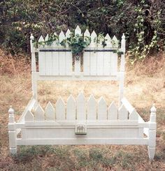 Hand Made Picket Fence Bed To Your Specifications Available With The Headboard And Footboard Or Order Twin Full Queen In