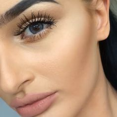 #makeup #contour #eyelashes