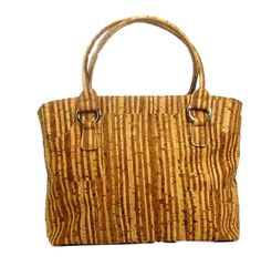 Madelena Cork Purse - Vegan, soft cork fabric