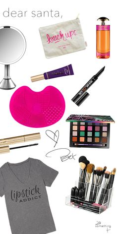 Makeup makes me happy.And so does this beauty wish list!