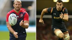 Rugby World Cup 2015 | Chris Robshaw (left) and Sam Warburton - 8:00pm BST 26th September 2015