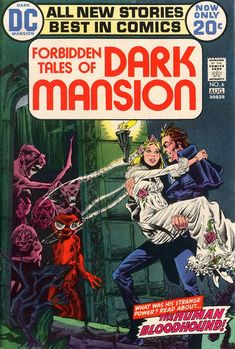 Cover for Forbidden Tales of Dark Mansion (DC, 1972 series) #6