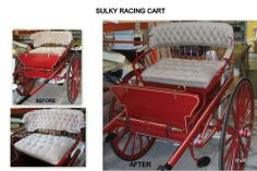 reluvd sulky seating