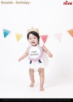 【楽天市場】rosette-birthday- / ロゼット バースデー niva /ニヴァ スタイ よだれかけ 出産祝い 赤ちゃん ベイビー birthday 誕生日 記念【あす楽対応_東海】:interiorzakka ZEN-YOU