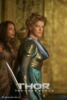 Who ever says  women can't  fight, go see Thor 2 and watch  Frigga, then tell me what you think.
