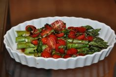 Asparagus Salad | New Paradigm Health Cookery | Information and Recipes about New Health Enhancing, Whole Food, Plant-Based Diet
