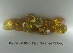 Orange Color Diamond