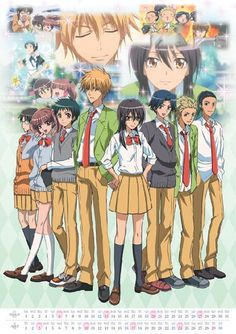 Kaichou Wa Maid-Sama, such a beautiful anime! Me Me Me Anime, Anime Love, Manga Anime, Anime Art, Anime Kiss, Noragami Anime, Haikyuu Anime, Best Romantic Comedy Anime, Misaki