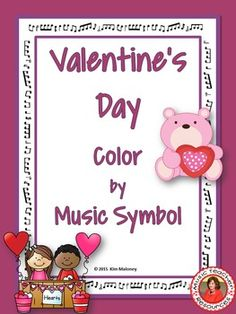 VALENTINES DAY COLOR by MUSIC SYMBOL GLYPHS This set contains 26 VALENTINES DAY Music Coloring Glyphs*******Uses North American terminology*******The 26 coloring pages consist of 24 set glyphs and 2 templates for the students (or you the teacher) to create their own Music Symbol Glyph.