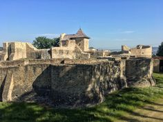 Cetatea de Scaun (XIVth century), Suceava, Romania Moldova, Mansions, House Styles, Decor, Europe, Cities, Scenery, Decoration, Manor Houses