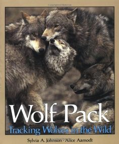 Wolf Pack: Tracking Wolves in the Wild (Discovery!) by Sylvia A. Johnson http://smile.amazon.com/dp/0822595265/ref=cm_sw_r_pi_dp_OeOOtb0ZMK37M10Z