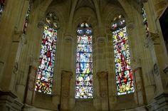 Les vitraux de Max Ingrand de la Chapelle du Château de Chenonceau