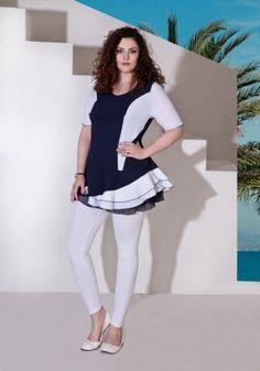 Mannequins, White Jeans, Peplum, Model, Pants, Tops, Fashion, Plus Size, Trouser Pants