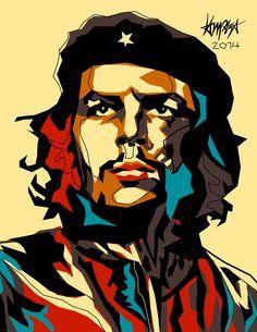 Pop Culture Illustrations by Dri Ilustre - Inspiration Grid Arte Pop, Cultura Pop, Che Guevara, Art Minimaliste, Tableau Pop Art, Afrique Art, Ernesto Che, Modern Impressionism, Grid Design