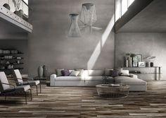 BuildDirect®: Salerno Porcelain Tile - Burnt Wood Series