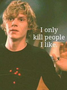 Tate Langdon. American Horror Story
