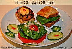Thai Chicken Sliders