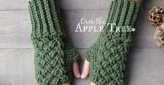 I was inspired by the Outlander TV series to create some more textured crochet items for my store. After making a few fingerless gloves, I ...
