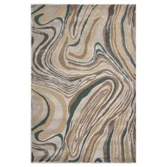 KAS Oriental Rugs Donny Osmond Home Timeless 8010 Silver Wood Grains Area Rug - DOT801022X33, Durable