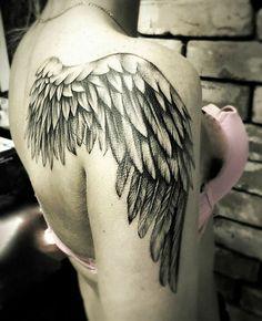 Angel wings tattoo - image ideas tattoos tattoos, back tattoo и Tatoo Angel, Angel Wings Tattoo On Back, Wing Tattoos On Back, Wing Tattoo Men, Wing Tattoo Designs, Angel Wing Tattoos, Tribal Tattoos, Tattoos Skull, Body Art Tattoos