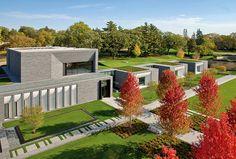 Lakewood Cemetery's Garden Mausoleum by HGA Architects. Minneapolis, Minnesota