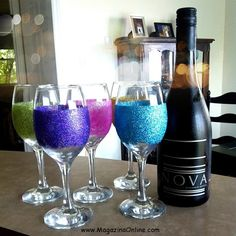 Today we have 16 useful DIY ideas how to decorate wine glass for your party time. We all have wine glass in our homes, so you can see this amazing project and we hope that is going to be very useful for you. But even so, the way we use those things is up to us. For example, something a ...