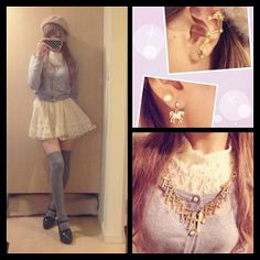 by Okarie Ank Rouge: http://ailand-store.jp/ankrouge  http://ameblo.jp/rie-matsuoka http://instagram.com/okarie1023