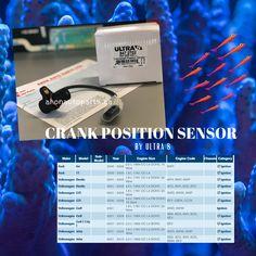 Crank Position Sensor by Ultra 8  #vw #audi #crankpositionsensor #ultra8