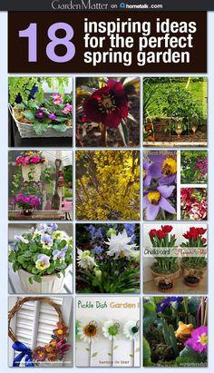 18 inspiring ideas for the perfect spring garden